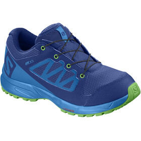 Salomon XA Elevate CSWP Shoes Junior mazarine blue wil/indigo bunting/onlime lime
